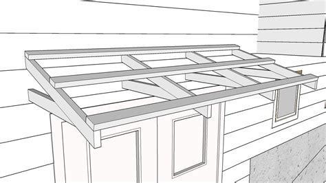 building  simple roof   door part  making  bracket youtube