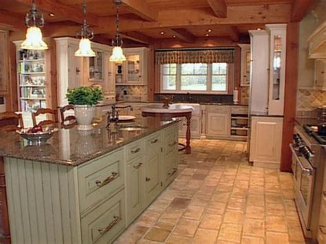 farmhouse style kitchen islands materials create farmhouse kitchen design hgtv 7166