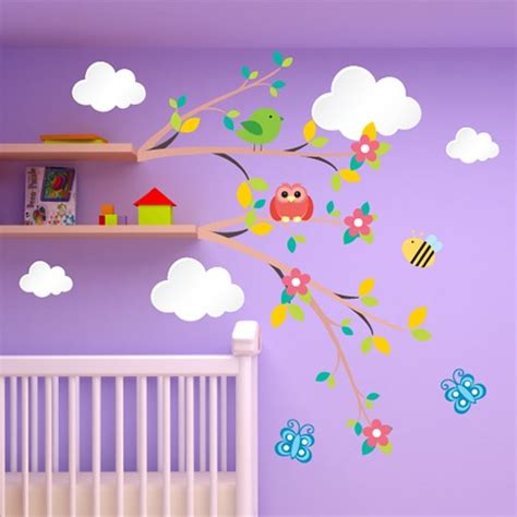 déco chambre bébé stickers awesome stickers chambre bebe nuage photos awesome