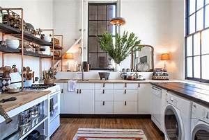 Küche Vintage Style : die wohngalerie leben und wohnen im loft rustikal im vintage design ~ A.2002-acura-tl-radio.info Haus und Dekorationen
