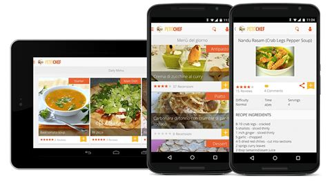 application android cuisine top 7 des meilleures applications android de cuisine