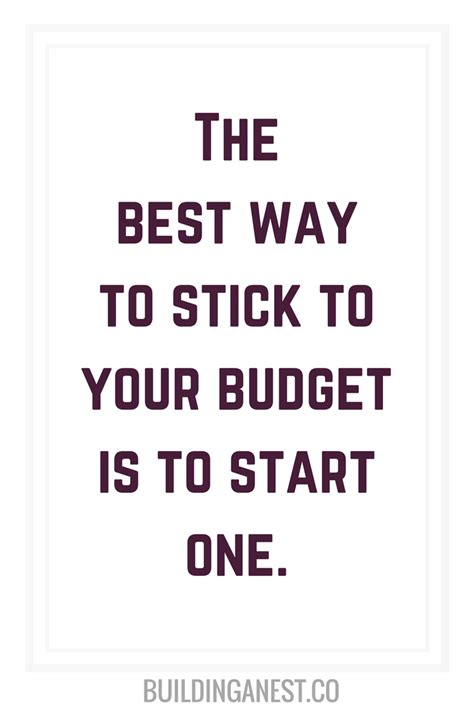 motivational budget quotes   convince