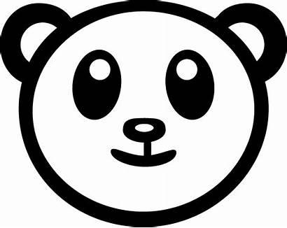 Panda Transparent Svg Vector Logos Clipart Seeklogo