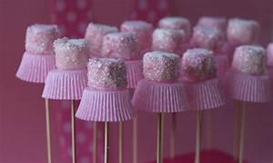 Ballerina marshmallow pops - Kidspot