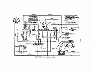 Wiring Schematic  Kohler Engine  Diagram  U0026 Parts List For