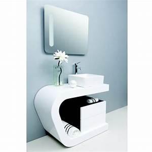meuble de salle de bain des exemples beaux joueurs With meuble salle de bain design blanc