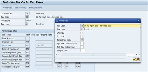 deferred tax code transfer with different profit center in
