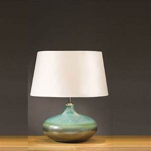 Elstead, Lighting, Laguna, Turquoise, U0026, Silver, Table, Lamp, Small