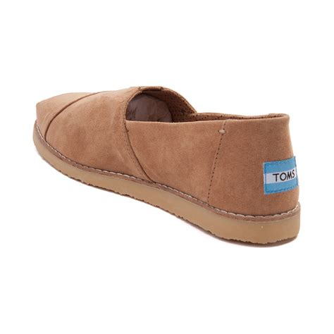 casual shoes for toddler womens toms alpargata crepe casual shoe light brown 350254