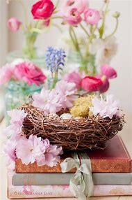 Easter Spring Flower Arrangement
