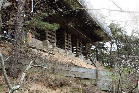 stabilizing  hillside foundation jlc