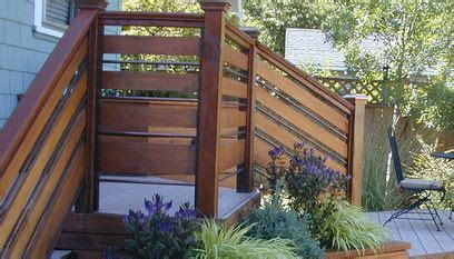 deck railing ideas  designs deck railings