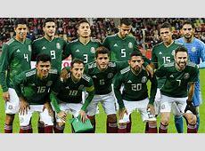 Selección Mexicana Elige la alineación de México para el