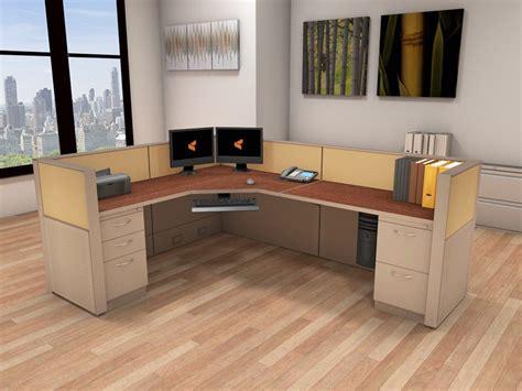 Office Workstation Desk - 6x8 Cubicle Workstations