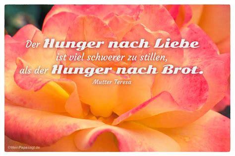 der hunger nach liebe ist viel schwerer zu stillen