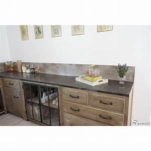 beton cire cuisine et plan de travail harmony beton With cuisine beton cire bois