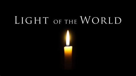 the world of lights light of the world youtube