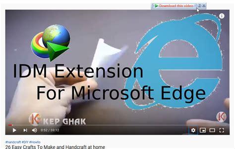 Microsoft edge tarayıcısına internet download manager uzantısı nasıl eklenir?microsoft edge idm ekleme nasıl yapılır?microsoft microsoft edge idm ekleme için başka yapmanız gereken bir şey yok. Idm Extension For Edge / How To Install Idm Extension In Edge Chromium Browser - Amzn.to/2nkpceh ...