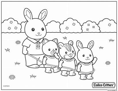 Coloring Critters Yard Calico Playing Pages Printable