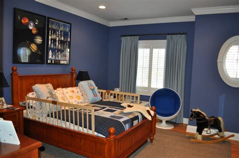 Boys Space Aeronautical Theme Room-traditional-kids