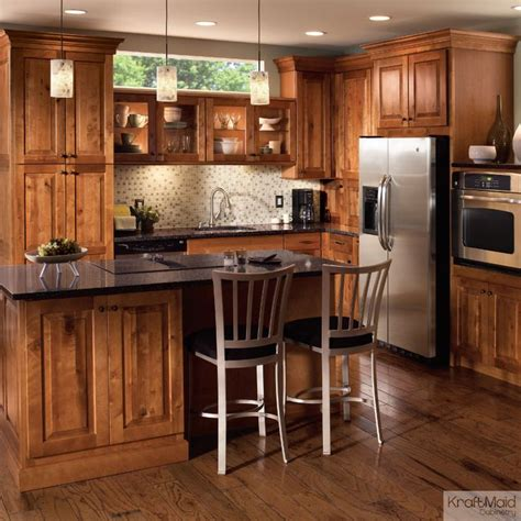 rustic modern kitchen cabinets this rustic birch cabinetry with a praline finish adds a 5013