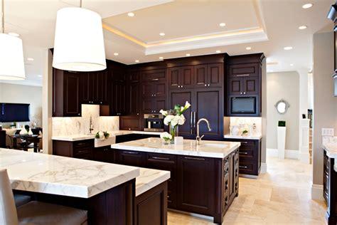 espresso kitchen design espresso cabinets transitional kitchen elizabeth 3595