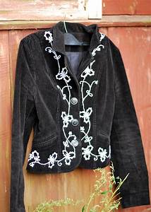 Euphorias, Room, Diy, Embroidered, Jacket