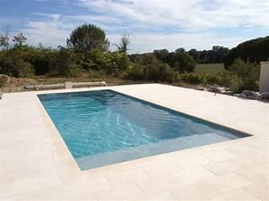 Piscine Enterrée Rectangulaire : piscine rectangulaire en aluminium difloisirs ~ Farleysfitness.com Idées de Décoration