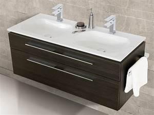 Doppelwaschtisch 100 Cm : design waschplatz mit ultraflachem mineralguss ~ Sanjose-hotels-ca.com Haus und Dekorationen