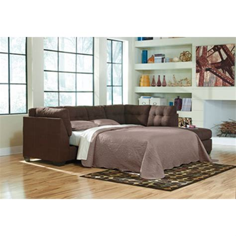 Sectional Sofa Sleeper With Chaise by Benchcraft Maier Walnut Laf Sofa Sleeper With Raf