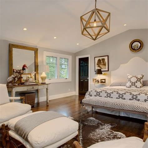 contemporary bedroom with gold accents just decorate