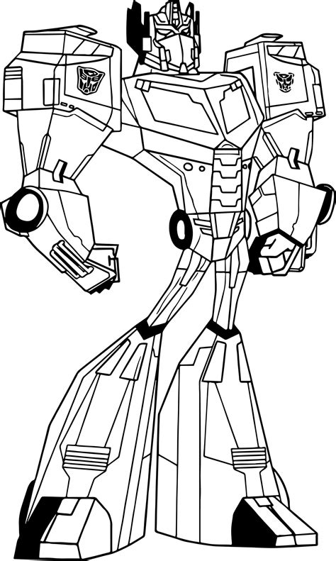 beautiful optimus prime coloring page advance thuncom