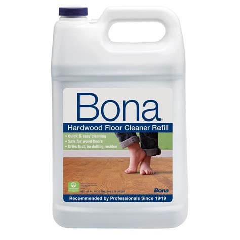 bona laminate floor cleaner bona 128 oz hardwood cleaner wm700018159 the home depot
