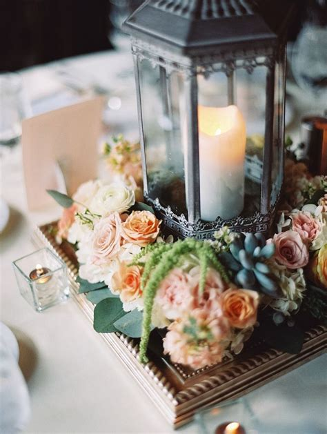 lantern table decorations weddings 76 best lantern centerpieces images on pinterest flower arrangements table centers and