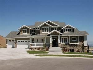 Modern, Craftsman, Home, Exterior, Stucco, Home, Exterior