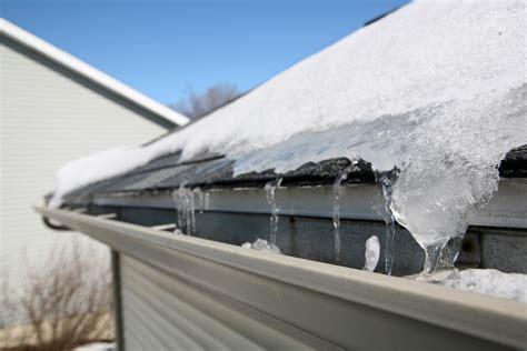 ways  prevent winter roof gutter damage zephyr thomas