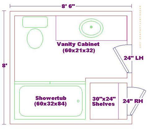 his and bathroom floor plans 8x8 bathroom floor plan bathroom