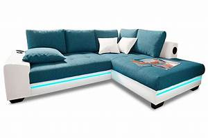 Couch Mit Led Und Sound : polsterecke nikita mit bett und sound sofas zum halben preis ~ Bigdaddyawards.com Haus und Dekorationen