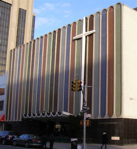 new york mid century modern churches roadsidearchitecture