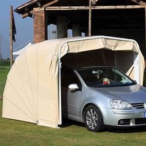 Garage Pour Voiture : abri autobox garage pour protection de voitures 2 volets ~ Voncanada.com Idées de Décoration