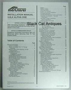 Original 57 Page Mercury Installation Manual For