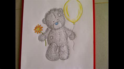 teddybaer zeichnen kuschelbaer malen zeichnen lernen fuer