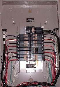 How An Electrical Circuit Breaker Panel Is Wired