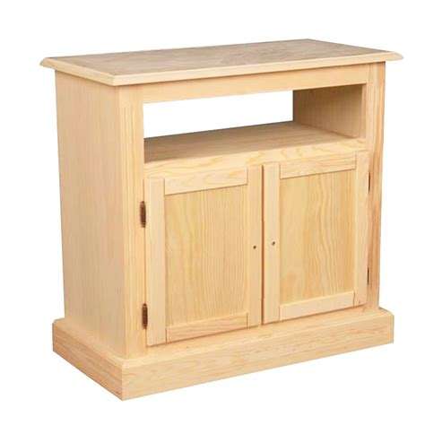 mueble  tv   puertas en madera de pino macizo