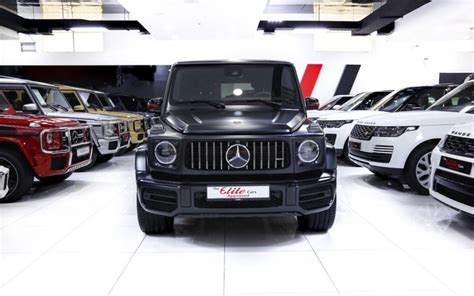 It likely won't build many, and each one is likely. Mercedes G63//amg Edition 1 2019 for Sale in Dubai, AED 879,000 , Matte Black,Sold