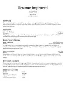 Sample Resumes Examples