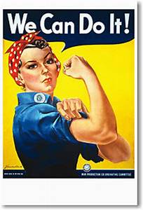 We-Can-Do-It-ROSIE-THE-RIVETER-Vintage-Print-POSTER