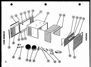 Amana Portable  U0026 Compact Series Room Air Conditioner Parts