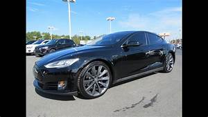 2012  2013 Tesla Model S 85kwh Performance Start Up  Drive