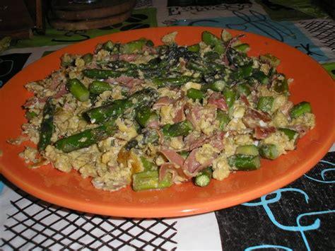 cuisiner des asperges fraiches brouillade d 39 asperges et jambon victorine en cuisine